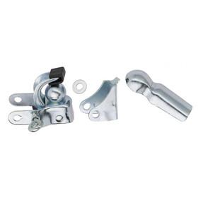 Diverse anhængerkobling til rammemontering sølv